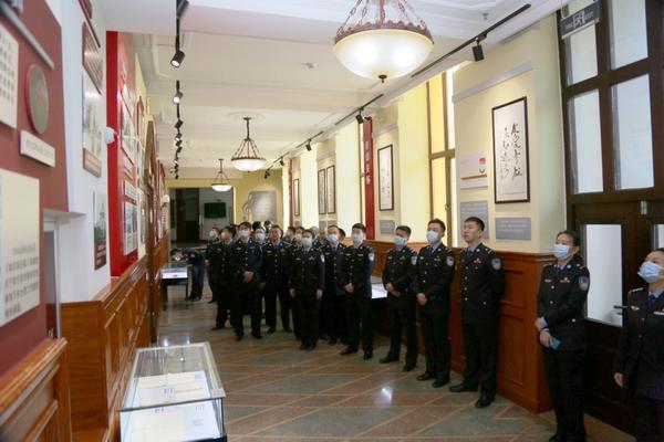 哈尔滨市公安局刑侦支队组织青年民警参观哈尔滨青年运动史纪念馆